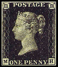 One Penny Black